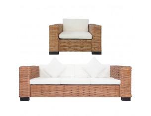 Set canapea cu perne, 2...