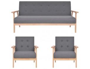 Set de canapele, 3 piese,...