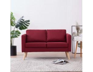 Canapea cu 2 locuri, rosu,...