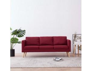 Canapea cu 3 locuri, rosu...
