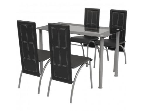 Set masa si scaune din lemn de pin...