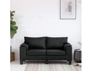 Canapea cu 2 locuri, negru,...