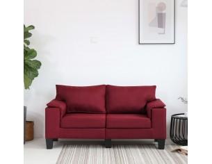 Canapea cu 2 locuri, rosu...