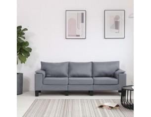 Canapea cu 3 locuri, gri...
