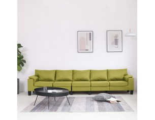 Canapea cu 5 locuri, verde,...