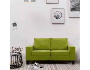Canapea cu 2 locuri, verde,...