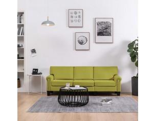 Canapea cu 3 locuri, verde,...
