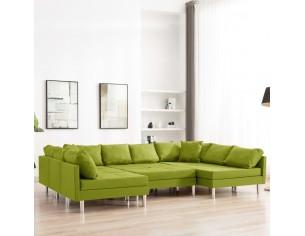 Canapea modulara, verde,...