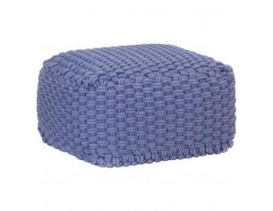 Puf tricotat manual,...