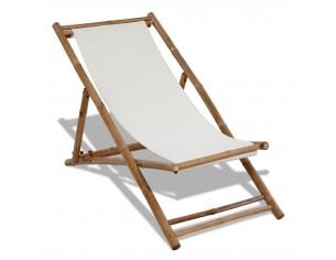 Scaun din lemn de bambus si...