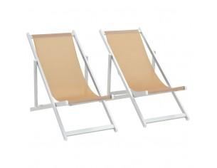 Scaune pliante de plaja, 2...