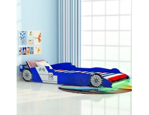 Pat copii masina de curse,...