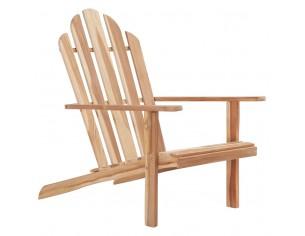 Scaun Adirondack, lemn de tec