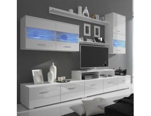 Comoda TV cu LED 7 piese...