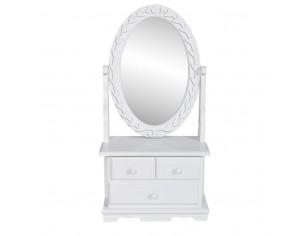 Masa de machiaj cu oglinda...
