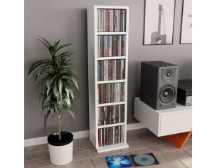 Dulap pentru CD-uri, alb,...