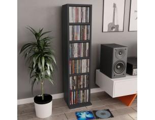 Dulap CD-uri, gri, 21x16x88...
