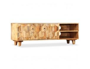 Comoda TV din lemn masiv de...