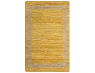 Covor manual, galben, 160 x...