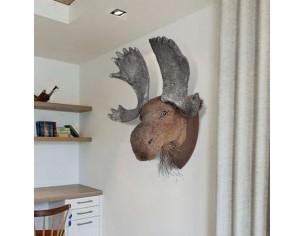 Element decorativ- Cap de elan