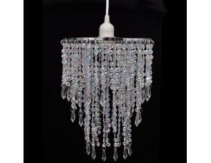 Lampa de tavan cu cristale...