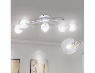 Lampa plafon cu abajururi...