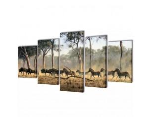Set tablouri imprimate pe...