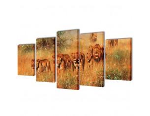 Set tablouri de panza cu...