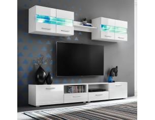 Set comoda TV de perete, 5...