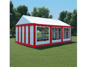 Pavilion de gradina, rosu...