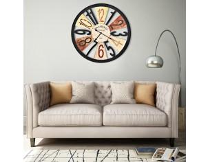 Ceas de perete, multicolor,...