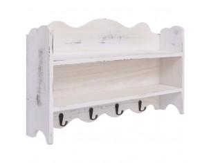 Cuier de perete, alb, 50 x...