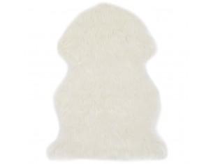Covor, alb, 60 x 90 cm,...