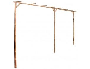 Pergola din bambus 385 x 40...