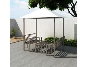 Pavilion de gradina cu masa...