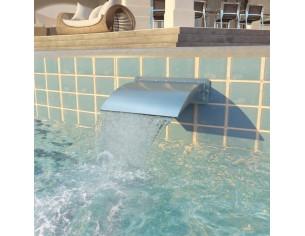 Fantana de piscina, otel...