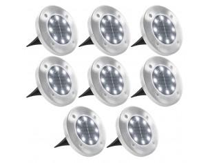 Lampi solare pentru sol, 8...