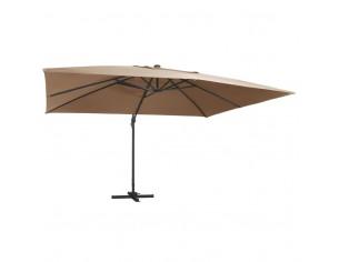 Umbrela suspendata cu LED...
