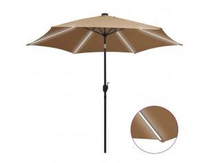 Umbrela de soare, LED-uri...