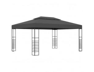 Pavilion, antracit, 3 x 4 m