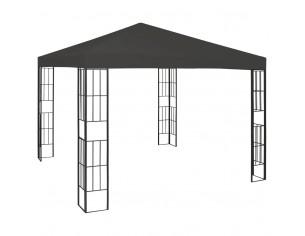 Pavilion, antracit, 3 x 3 m