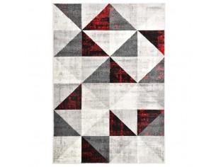 Covor, negru si rosu, 80 x...