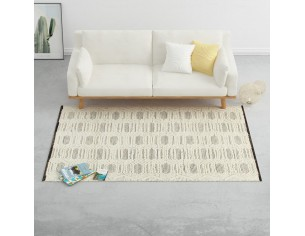 Covor lana tesut manual,...
