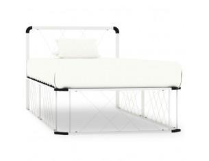 Cadru de pat, alb, 100 x...