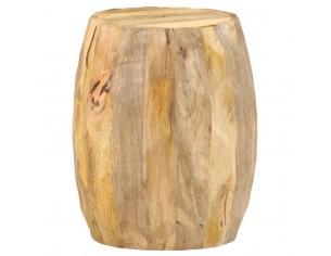 Taburet, lemn masiv de mango