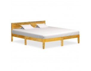 Cadru de pat, 140 cm, lemn...