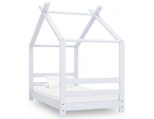 Cadru pat de copii, alb, 70...