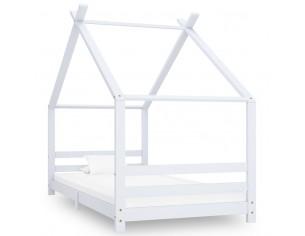 Cadru pat de copii, alb, 90...