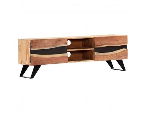 Comoda TV, 140x30x45 cm, lemn masiv...