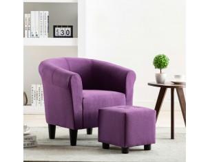 Fotoliu, violet, material...